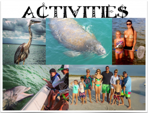 Fishing Charter Activities