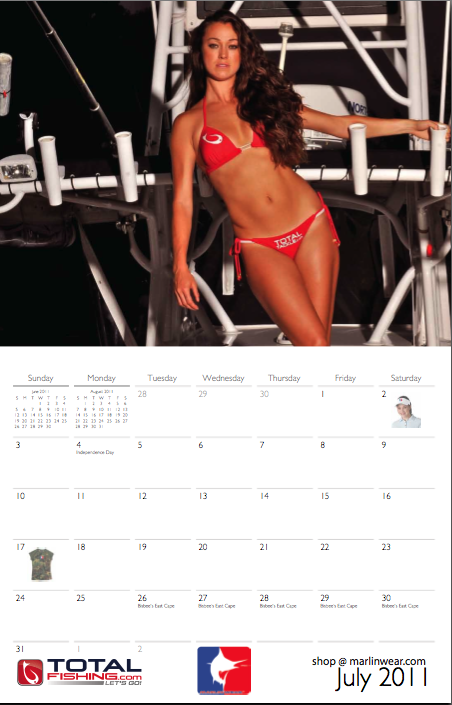 """Marlin Wear Calendar"""