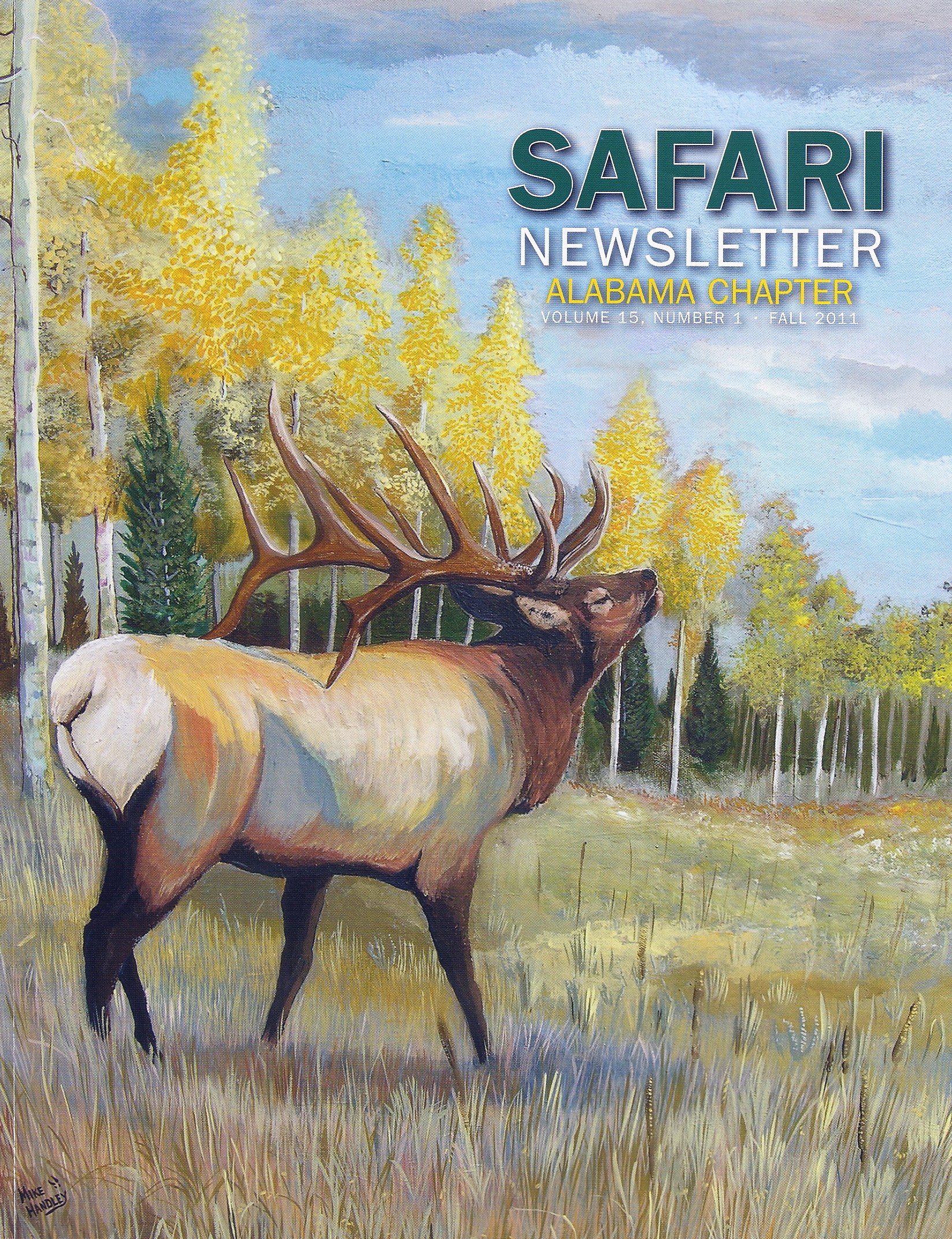 """Safari Club International - Alabama Chapter Newsletter"""