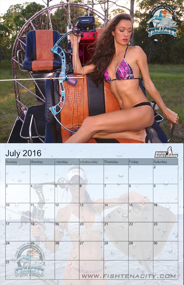 bikini bowfishing calendar - photo #29