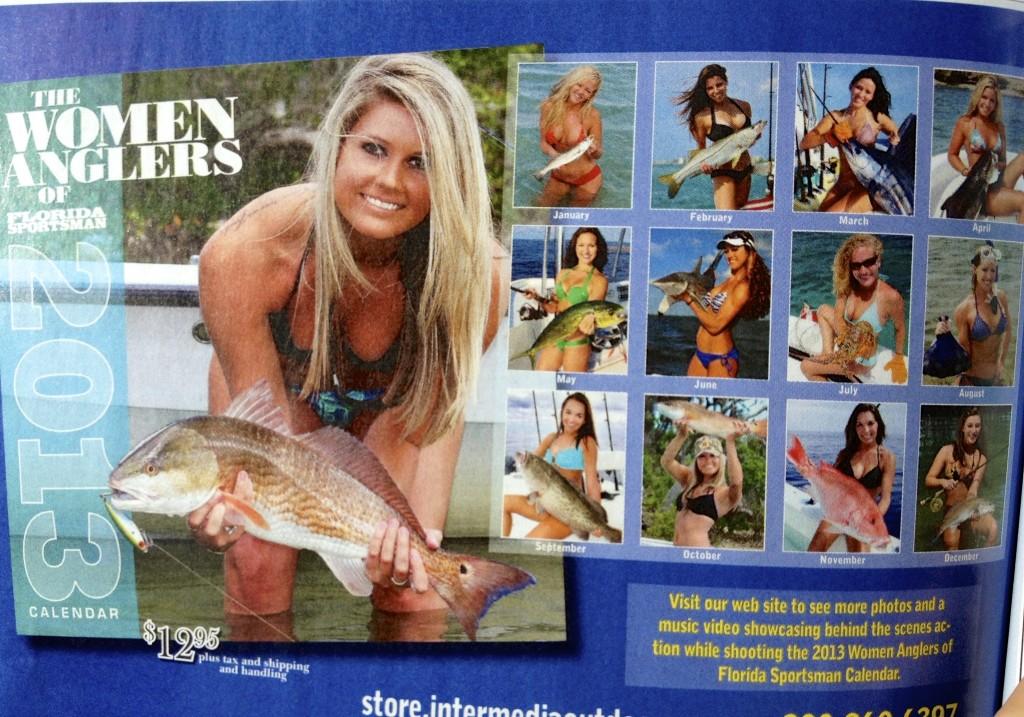 """2013 Florida Sportsman Calendar"""
