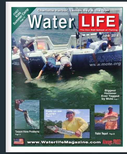 """""""water life magazine"""""""