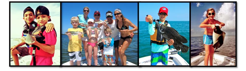 'kids fishing'